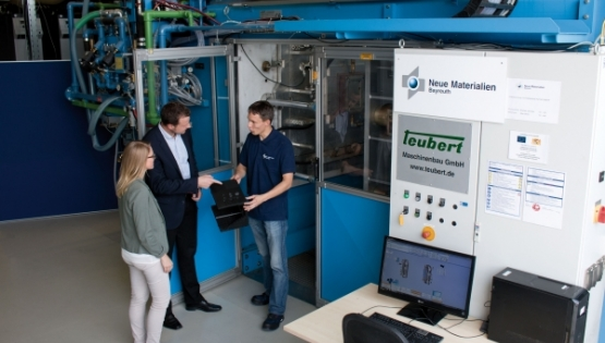 Teubert at the NMB TechDays 2018 in Bayreuth,...