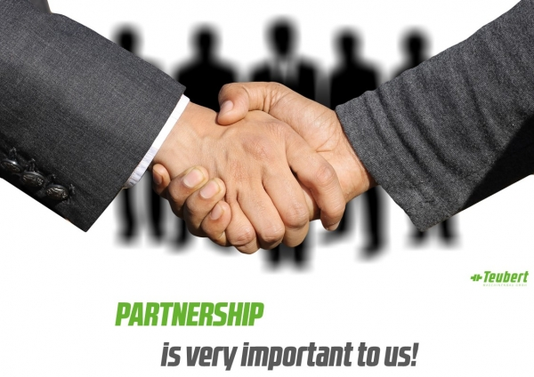 PARTNERSHIP is very important to us!